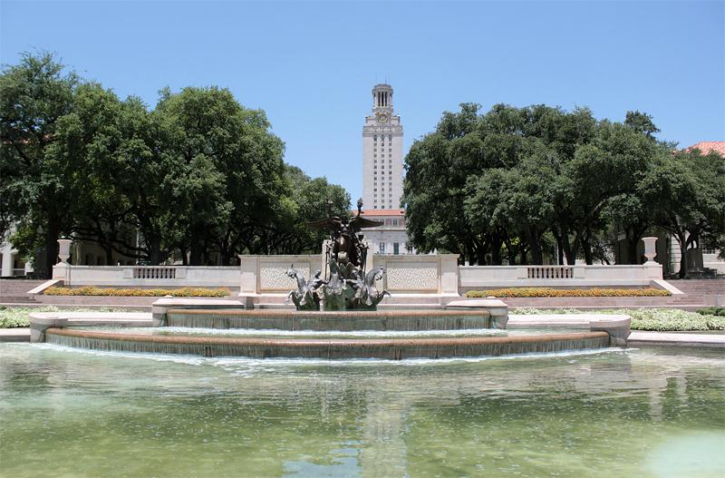 德克萨斯大学奥斯汀分校 - The University of Texas at Austin tower - University of Texas at Austin