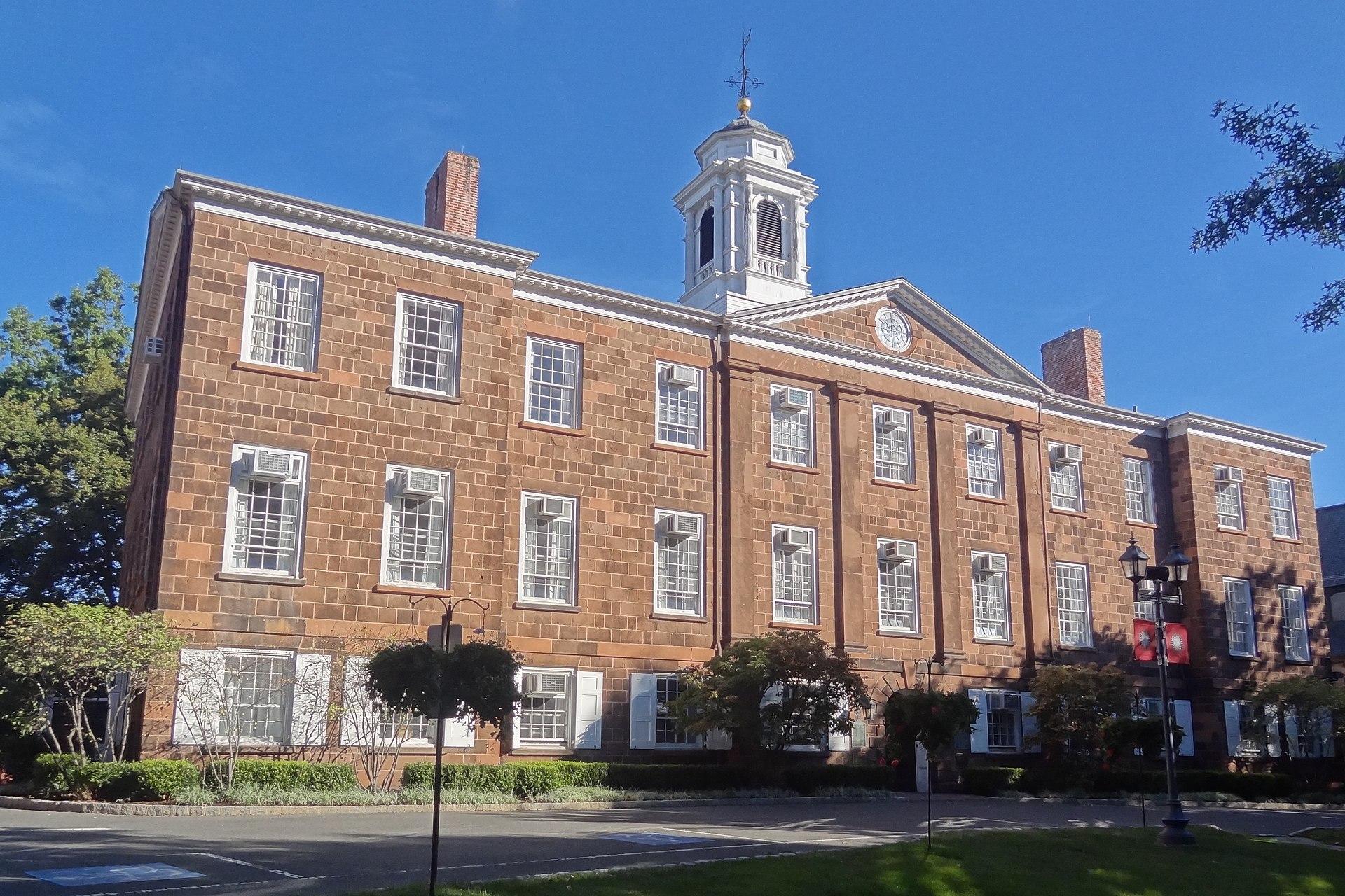 罗格斯大学 - Old Queens on the campus of Rutgers University in New Brunswick, New Jersey. - Rutgers University