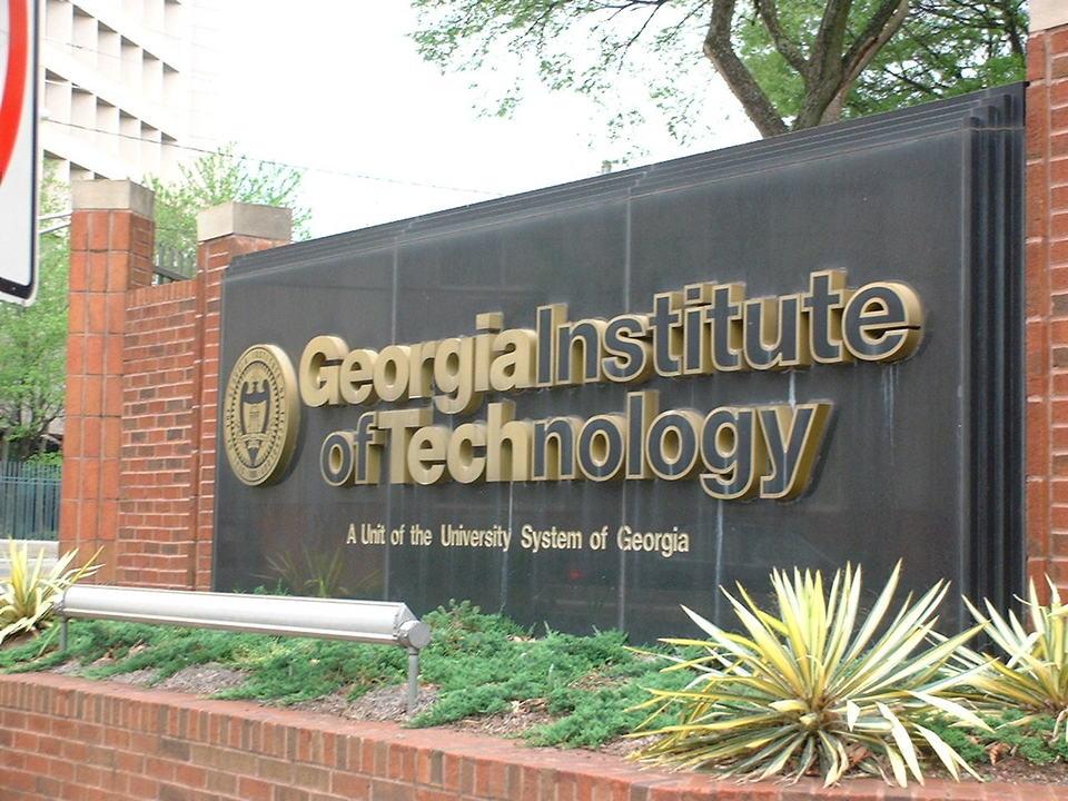 乔治亚理工学院 - Entrance to the Georgia Institute of Technology, Atlanta - Georgia Institute of Technology