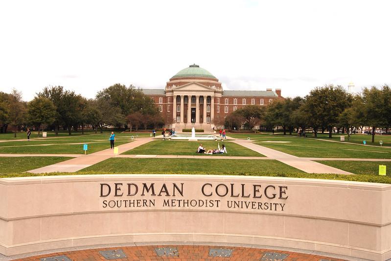 南卫理公会大学 - Dedman College Entrance, SMU - Southern Methodist University