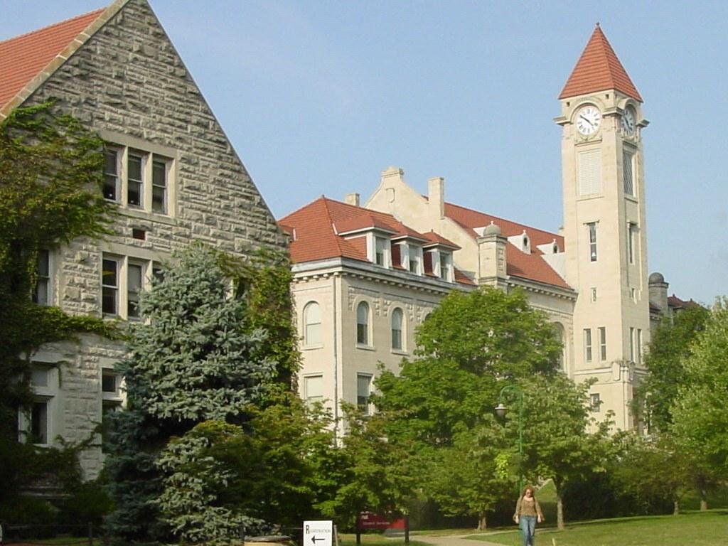 印第安纳大学布鲁明顿分校 - Franklin Hall - Indiana University Bloomington