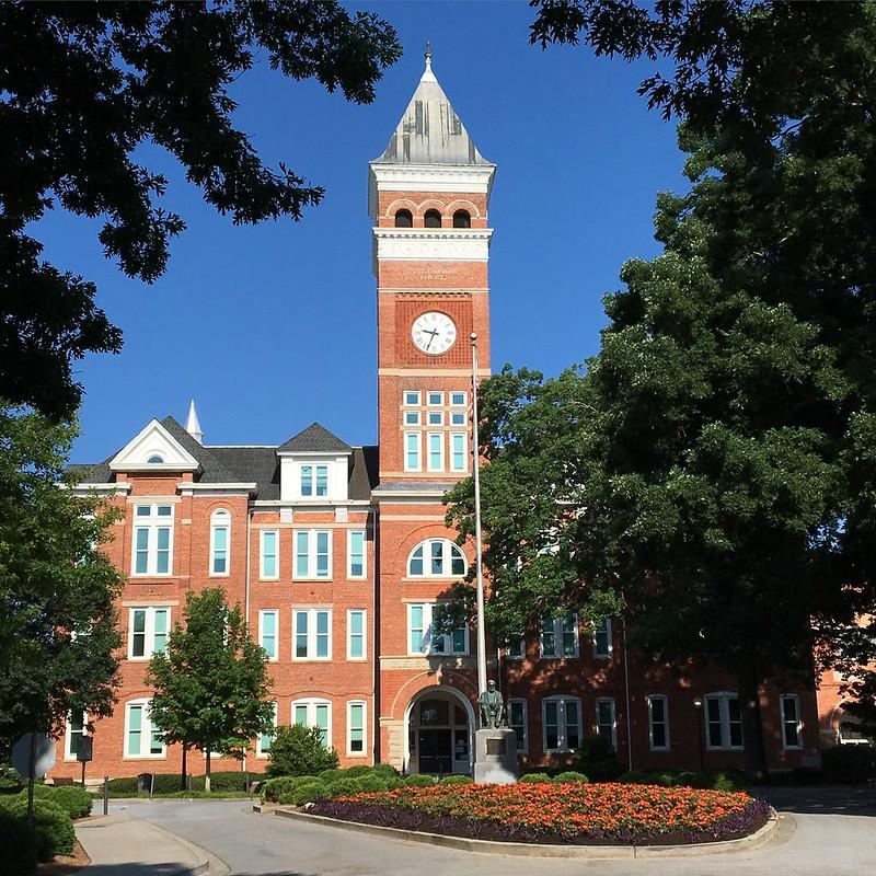 克莱蒙森大学 - Clemson University - South Carolina - Clemson University