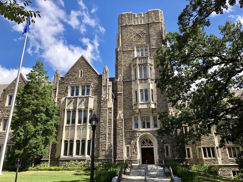 杜克大学 - Allen Building, West Campus, Duke University, Durham, NC - Duke University