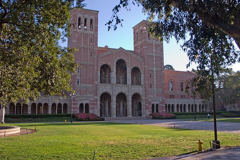 加州大学洛杉矶分校 - UCLA Campus Royce Hall - University of California: Los Angeles