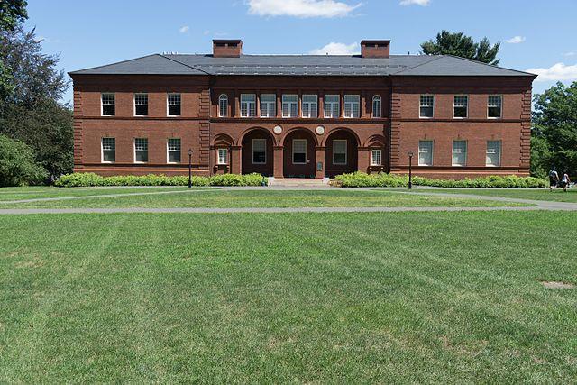 阿默斯特学院 - Fayerweather Hall, Amherst College - Amherst College