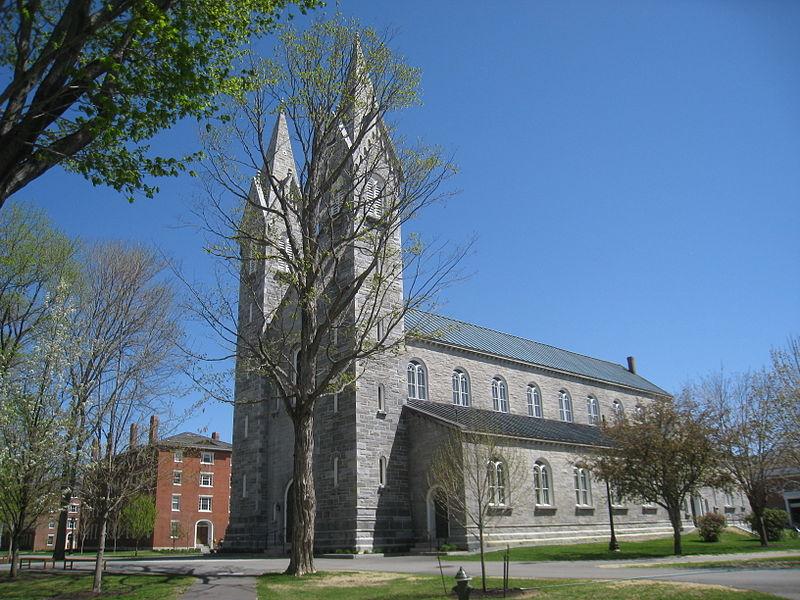 鲍登学院 - Bowdoin College Chapel, Bowdoin College - Bowdoin College