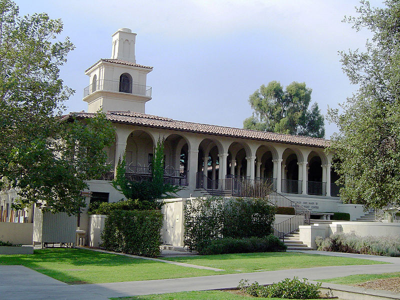 西方学院 - Johnson Student Center and Freeman College Union - Occidental College