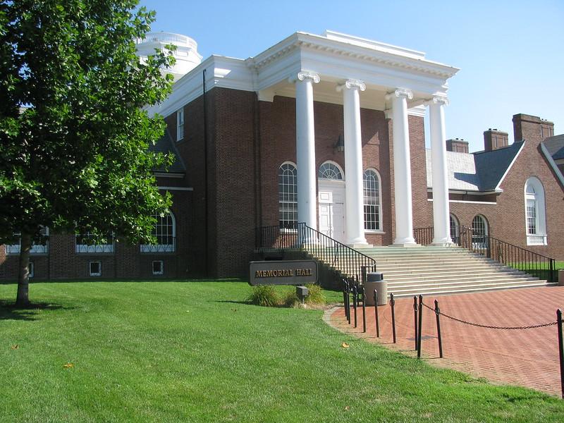 特拉华大学 - memorial hall - University of Delaware
